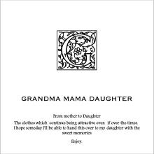 GRANDMA MAMA DAUGHTER オフィシャルブログ