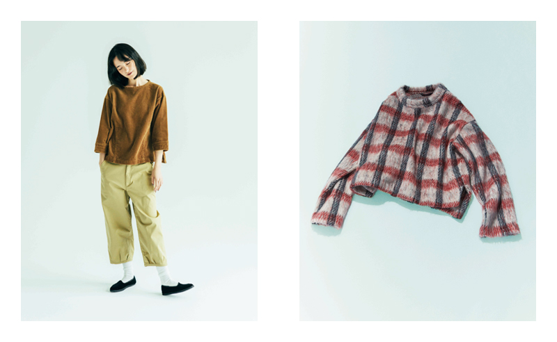 [L] SHIRT GS731671-301 / 23,000 YEN + TAX  - Delivered in August -  PANTS GP732161-301 / 18,000 YEN + TAX  - Delivered in August - (All Product is  GRANDMA MAMA DAUGHTER)   [R] CUT&SEWN TC733251-101 / 21,000 YEN + TAX  - Delivered in September - GRANDMA MAMA DAUGHTER toro