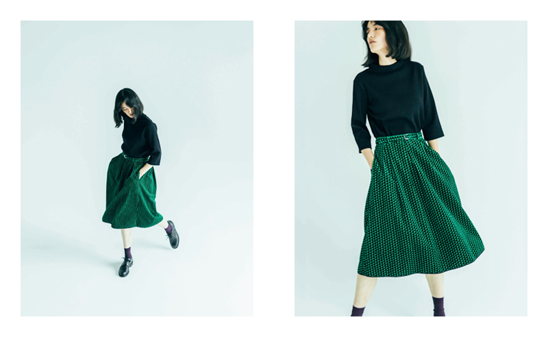 CUT&SEWN GC733121-506 / 16,000 YEN + TAX  - Delivered in August -  SKIRT GK730871-601 / 23,000 YEN + TAX  - Delivered in September -  (All Product is  GRANDMA MAMA DAUGHTER)